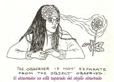 El observador en radiestesia