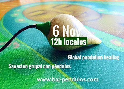 Sanación grupal con péndulos 6 Nov