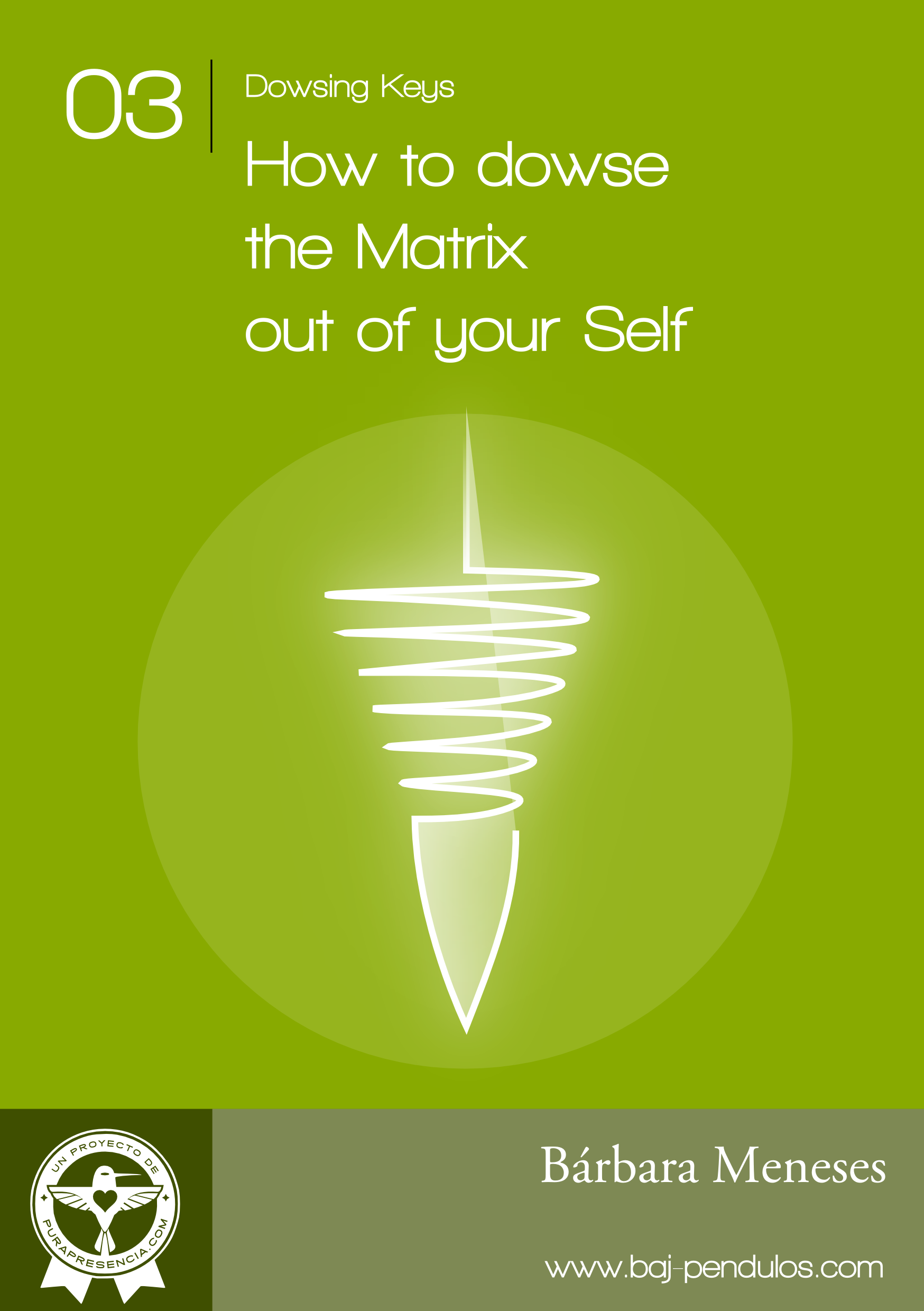 Dowsing Keys 03: How to dowse the Matrix out of your Self