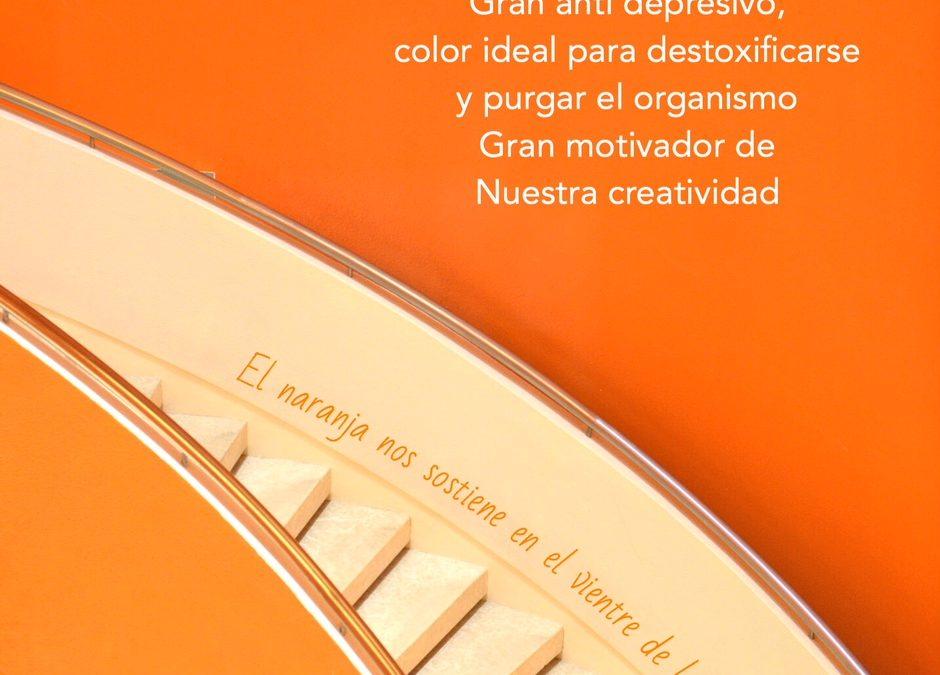 Colores radiestésicos: El Naranja
