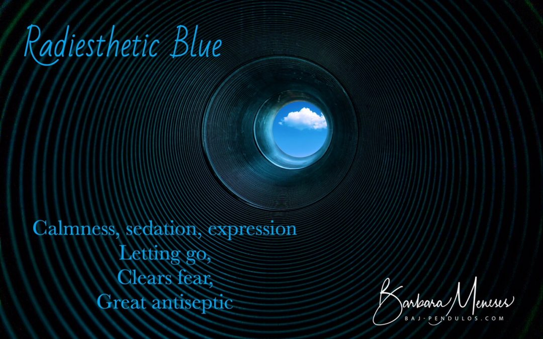 Radiesthetic color Blue