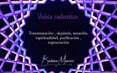 Colores radiestésicos: el Violeta