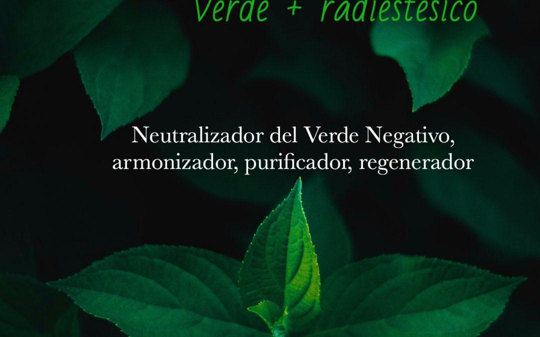 Colores radiestésicos: Verde Positivo