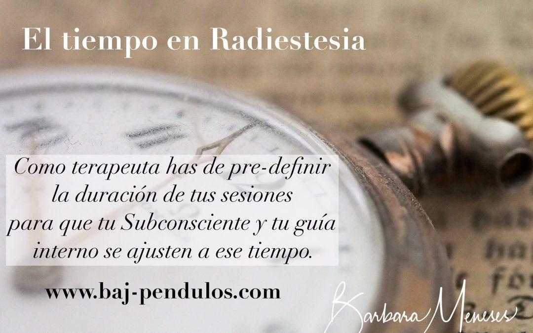 El tiempo en radiestesia