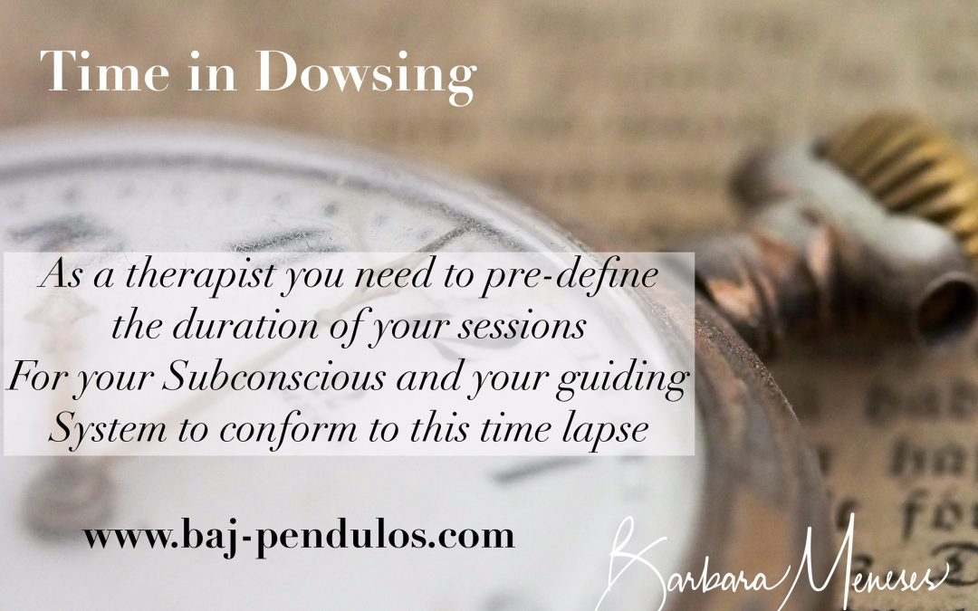 Time in Dowsing