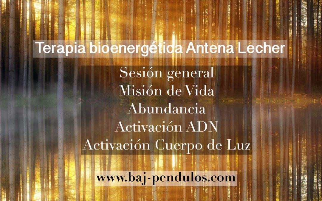 Terapia bioenergética Antena Lecher